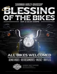 Blessing of the Bikes @ Savannah Harley-Davidson | Savannah | Georgia | United States